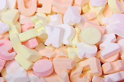 ABC Candy Letters - Retro 'Pink 'n' Mix Sweets - 500g,1kg or full 1.75kg Bag