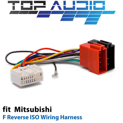 F Reverse ISO Wiring Harness for Mitsubishi APP0113F adaptor cable lead loom