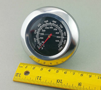 Large Stainless Steel Probe Bbq temperature Thermometer 500c Woodfire Pizza oven