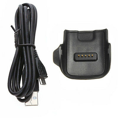 Charging Dock Charger Cradle Adapter for Samsung Galaxy Gear Fit SM-R350 Cable A
