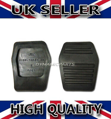 Pair Of Ford Focus Mk1 Pedal Pad Rubbers 94Bb7A624Aa 6789917 Genuine Part