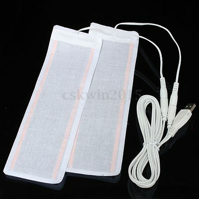 6*20cm One Pair USB Heating Element Film Heater For Warm Feet Warmer Electric 5V