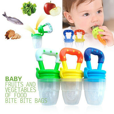 HOT Baby Infant Feeding Dummies Pacifier Soother Nipples Soft Feeding BiteTool