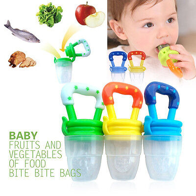 NEW Baby Infant Feeding Dummies Pacifier Soother Nipples Soft Feeding BiteTool