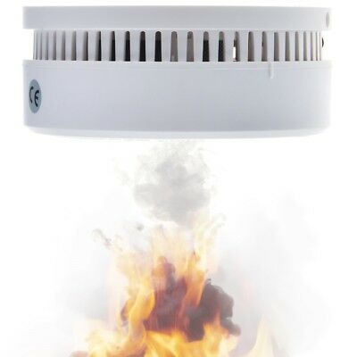10 Years Lifetime Built in Lithium Battery Independent Smoke Detector HM-626PHS