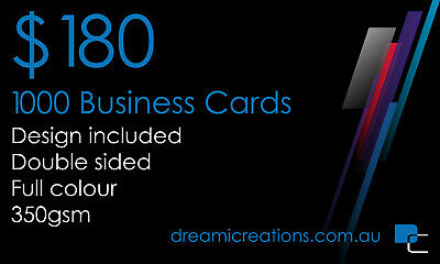 Business Cards x1000 | Custom Design + Logo