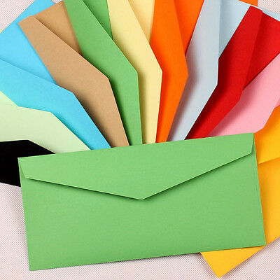 Colorful Kraft Paper Envelope For Stationery Letter Invitations Photo Postcard