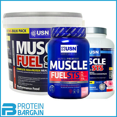 USN Muscle Fuel STS High Protein Meal Replacment 2kg - 5kg