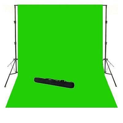 Chromakey Kit Per Studio Video Completo Di Luci