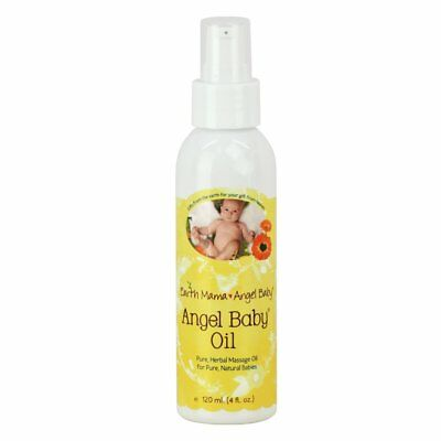 Earth Mama Earth Mama Angel Baby Baby Oil - 4 fl oz