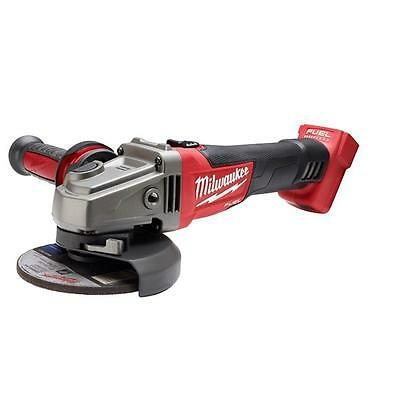 Milwaukee M18 Fuel 18-Volt Lithium-Ion Brushless Cordless 4-1/2 in./5 in.Grinder