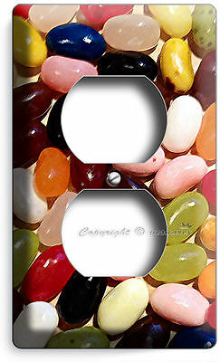 JELLY BEANS SWEET CANDY SINGLE LIGHT SWITCH WALL PLATE COVER KITCHEN DINING ROOM