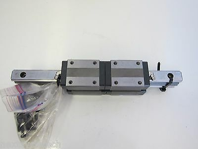 (2) 280mm Linear Rails with (4) THK HSR20 LM Guides