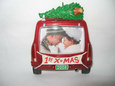"""Hallmark """"our First Christmas Together 2008"""" Photo Hold"""