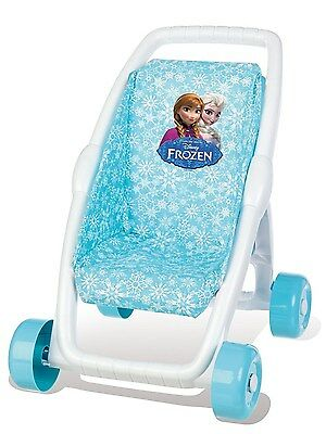 Smoby A1503247 Stroller-First-Frozen  Toy Doll Buggy Pushchair For Baby New