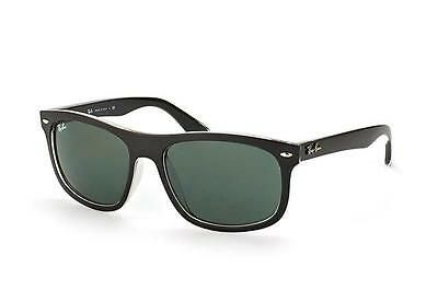 a3c21f0607 Ray-Ban Sunglasses Rb 4226 60529A 56Mm Black Frame Green Polarized ...