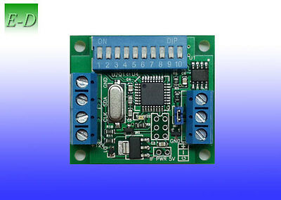 DMX to SPI for SK6812 WS2812 (B) WS2813 WS2801 + pixels combination controller