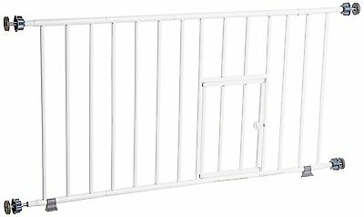 New Carlson Puppy / Small Dog Gate Step Over Baby Safety Little Pet Door