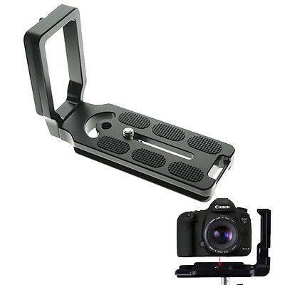Universal MPU100 Quick Release L Plate Bracket for Camera Benro Arca Swiss OZ