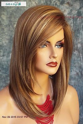 """Laine"" Rene Of Paris Wig  *Mochaccino* Slinky Hot Medium Bob Side Bangs 550"