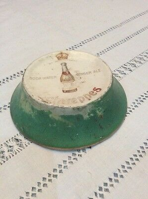 Antique Schweppes Ceramic Stand-By Appointment to the King-Soda Water-Ginger Ale