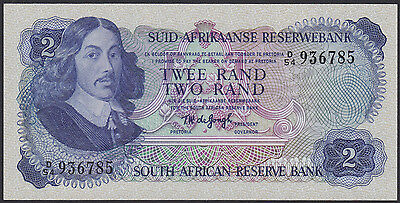 SOUTH AFRICA 2 Rand (1974) D/54 936785  Pick 117 UNC