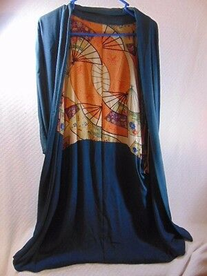 Vintage Antique Japanese ? Asian Silk Kimono Robe