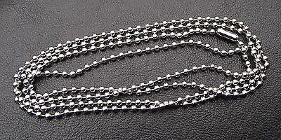 Long Stainless steel ball chain necklace 100cm won't tarnish Post from Melbourne