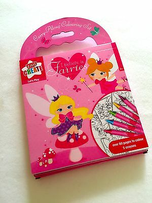 I Believe in Fairies - Colouring set