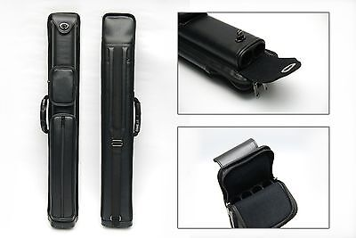 2x4 Pro Combo Billiard Pool Cue Case 2Butts 4Shafts Carry Pool Cue Stick Case