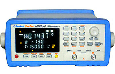 AT520 AC Low ohm Meter Accuracy Resistance: 0.3% Voltage: 0.05% Inductance: 1%