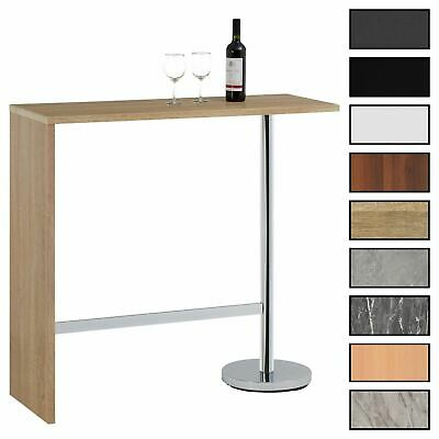 Table haute de bar mange-debout MDF 3 coloris disponibles