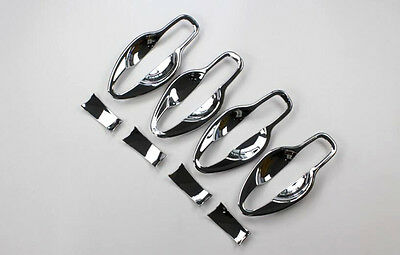 For Nissan Qashqai 2015 2016 ABS Chrome Car Door Handle Bowl Covers Glossy 8pcs