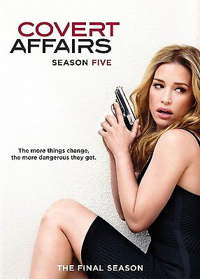 COVERT AFFAIRS Complete Season Series 5 Collection Boxset NEW DVD