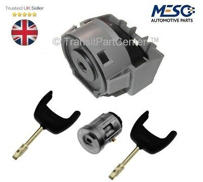 Ignition Switch And Lock Barrel Set With 2 Keys Ford Transit Mk7 Mk8 2006 Onward