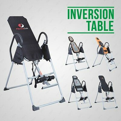 BN Exercise Bench Inversion Table Invert Align Therapy Pain Fitness Reflexology
