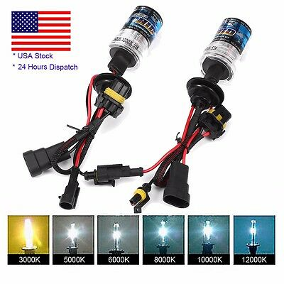 2X 55W HID Xenon Headlight Conversion Kit Lot H1 H3 H4 H7 H11 9005 9006 880/881