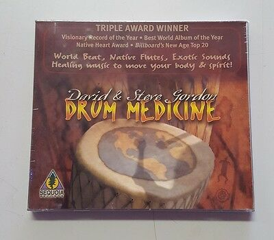 Drum Medicine CD SEQUOIA David and Steve Gordon
