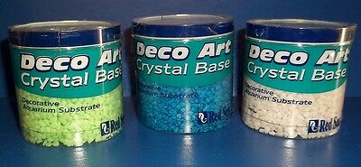 Red Sea Fish Aquarium Substrate Gravel Crystal Base 7oz  QTY 2