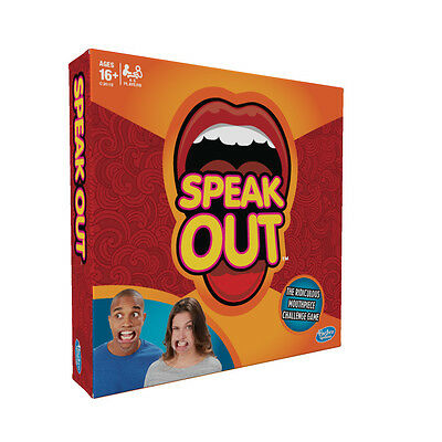 SPEAK OUT Game By Hasbro  FREE SAME DAY SHIPPING
