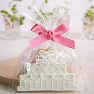 Clear Open End Bag Poly Plastic Bags Bakery Bread Cookie Cupcake Cake Cellophane