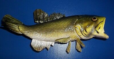 """Artificial 8"""" Large Mouth Bass Fish Figure MK2044"""