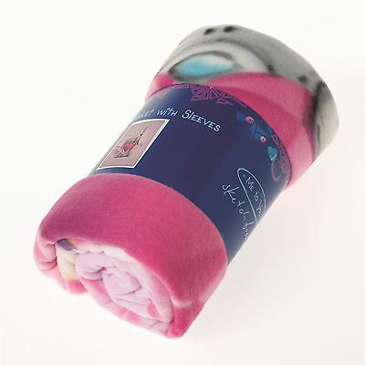 Me to You Pink Fleece Blanket With Arms - Tatty Teddy Bear