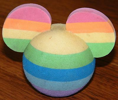 Disney Parks Exclusive Rainbow Mickey Ears Car Antenna Topper