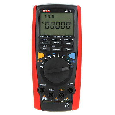 UNI-T UT71D Intelligent Digital Volt Amp Ohm Capacitance Meter Thermometer