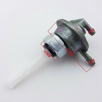 Gas Fuel Tap Valve Petcock For GY6 Moped Scooter ATV Roketa Znen Jonway Sunl