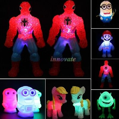 Colorful Led Changing Night Light Table Lamp Decor Kids Toys Doll Toy Xmas Gift