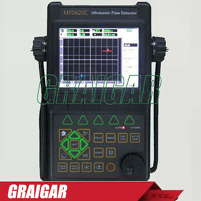 Portable Ultrasonic Flaw Detector MFD620C NDT 6000mm High Precision