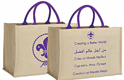 World Scout Eco-Friendly Juco Shopping Bag