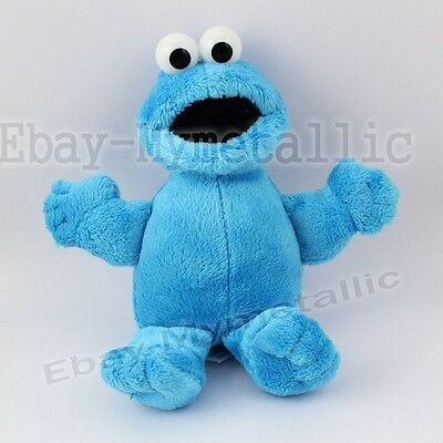 "Sesame Street Cookie Monster 16cm / 6.4"" Soft Plush Stuffed Doll Toy"